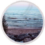 Distance  Round Beach Towel