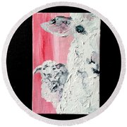 Dolly And Dot Round Beach Towel