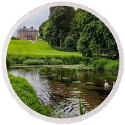 Doneraile Court Estate In County Cork Round Beach Towel