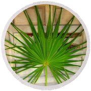 Door Decor Belize Style Round Beach Towel