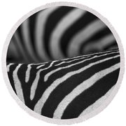 Double Vision... Round Beach Towel