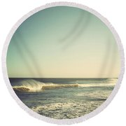 Down The Shore - Seaside Heights Jersey Shore Vintage Round Beach Towel