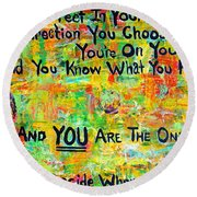 Dr. Suess Round Beach Towel