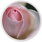 Dreamy Rose Round Beach Towel