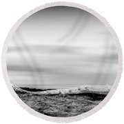 Drift-wood Round Beach Towel