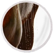 Drip Dry Round Beach Towel by Michelle Twohig