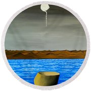 Dry-land Culture Round Beach Towel