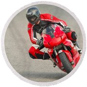 Ducati 900 Supersport Round Beach Towel by Jerry Fornarotto