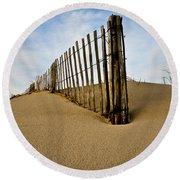 Dune Round Beach Towel