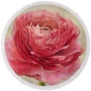 Dusty Pink Round Beach Towel