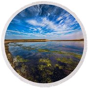 Dutch Delight Round Beach Towel