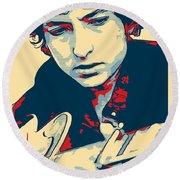Dylan Round Beach Towel by Dan Sproul
