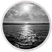 East Round Beach Towel by M West