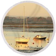 Ebbtide Emsworth Round Beach Towel