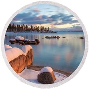 Echo Round Beach Towel