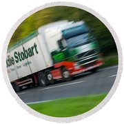 Eddie Stobart Lorry Round Beach Towel