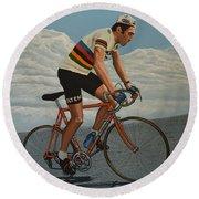 Eddy Merckx Round Beach Towel