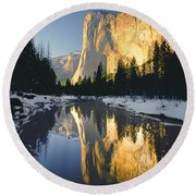 2m6542-el Cap Reflect Round Beach Towel