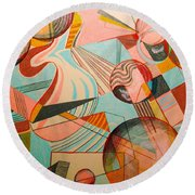 Elements Round Beach Towel
