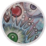 Eleventh Dimension Round Beach Towel