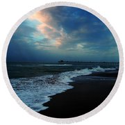 Emerald Isle Round Beach Towel