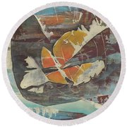 'emerge' Round Beach Towel