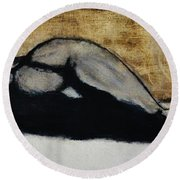 Emotive 2 Round Beach Towel