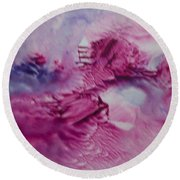 Enchanted Dreamscape Round Beach Towel