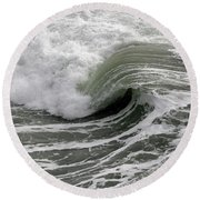 Endless Ever Changing Sea Round Beach Towel