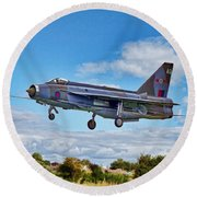 English Electric Lightning Round Beach Towel