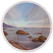 Enlightment Round Beach Towel by Jonathan Nguyen