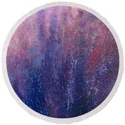 Essence Of Provence Round Beach Towel