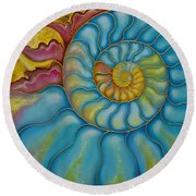 Eternity Round Beach Towel