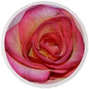 Event Rose Round Beach Towel by Felicia Tica