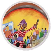 Expressions Of Power Round Beach Towel