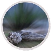 Round Beach Towel featuring the photograph Extinction Rising by Wayne King