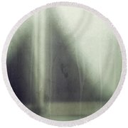 Round Beach Towel featuring the photograph Eye Of The Storm by Amy Weiss