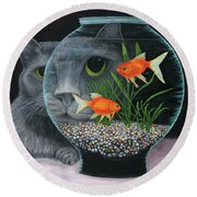 Eye To Eye Sq Round Beach Towel