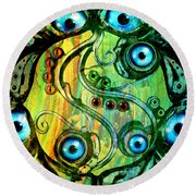 Eye Understand Round Beach Towel