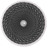Eyeball This Round Beach Towel