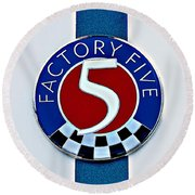 Factory Five Round Beach Towel