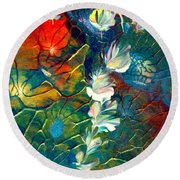 Fairy Dust Round Beach Towel