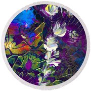 Fairy Dusting Round Beach Towel