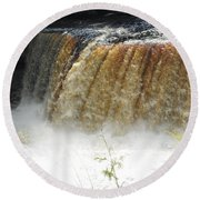 Falls Round Beach Towel