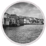 Falmouth Waterfront Round Beach Towel