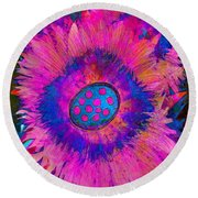 Fantasia Round Beach Towel