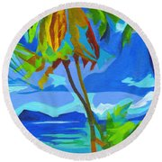 Dream Islands. Maui Round Beach Towel