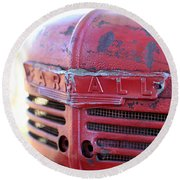 Farmall Round Beach Towel