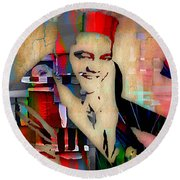Fats Domino Collection Round Beach Towel