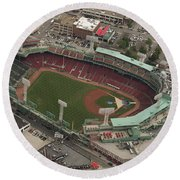 Fenway Park Round Beach Towel